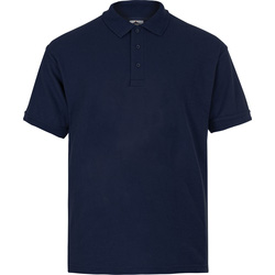 Polo Shirt XL navy blue