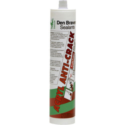 Zwaluw Zwaluw acryl anti-crack Wit 310ml - 10839 - van Toolstation
