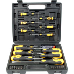 Builders Brand Screwdriver Set  27 Piece