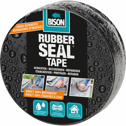 Bison Bison rubber seal tape 7,5cm - 5m - 11627 - van Toolstation