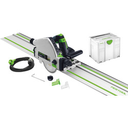 Festool Festool TS 55 REBQ-Plus Invalzaag machine 2x 1400mm geleiderail. - 12094 - van Toolstation