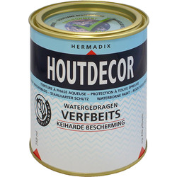 Hermadix houtdecor transparant 750ml teak