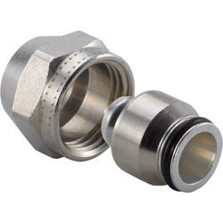 "Uponor MLC Clamping Coupler 2-piece ½""x16mm"