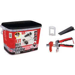 Rubi Rubi Startkit Delta Level Systeem 1.5mm - 12647 - van Toolstation