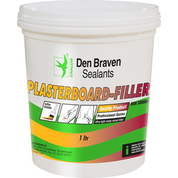 Zwaluw plasterboard filler Pot 1,000ml white