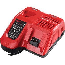 Milwaukee Milwaukee M12 18 FC snellader 12V - 14V - 18V Li-ion - 14201 - van Toolstation