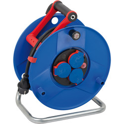 Brennenstuhl Garant IP 44 construction industry cable reel 40m 3 x 2.5mm2