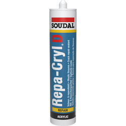 Soudal Soul repacryl Reparatie Kit wit 310ml - 16434 - van Toolstation