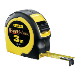Stanley FatMax Tape Measure 3m/16mm