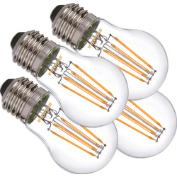 Sylvania Sylvania ToLEDo LED lamp filament kogel E27 4,5W 470lm 2700K - 17716 - van Toolstation