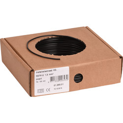 Installation Wire VD 1.5 ? Black 100m