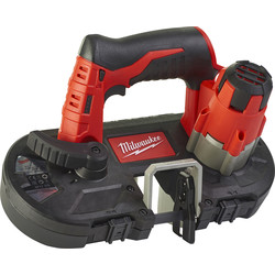 Milwaukee Milwaukee M12 BS-0 accu bandzaagmachine (body) 12V  Li-ion - 18472 - van Toolstation