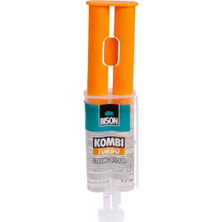 Bison Bison Kombi Turbo tweecomponenten epoxylijm 24ml - 18550 - van Toolstation