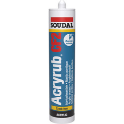 Soudal Soudal acryrub CF 2 Wit 310ml - 19599 - van Toolstation