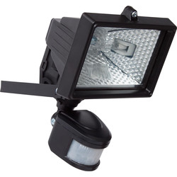 Halogen floodlight 400W black
