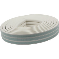 Ellen Draught Band white 7.5 m. D Profile 4-6mm