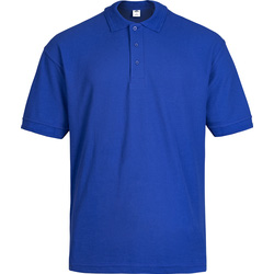 Polo Shirt M royal blue