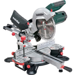 Metabo KGS 254 M Crosscut And Mitre Saw With Sliding Function