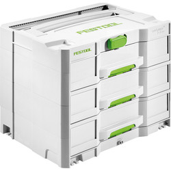 Festool SYS 4 TL-SORT/3 sortainer 396x296x322mm