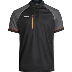 Scruffs Scruffs Trade Active poloshirt M zwart - 24250 - van Toolstation