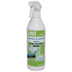 HG HG douche & wasbakspray 500ml - 24317 - van Toolstation