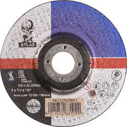 Atlas Grinding wheel steel/stainless steel 115x6x22,23mm - 24664 - from Toolstation