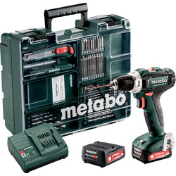 Metabo Metabo PowerMaxx BS 12 accu schroefboormachine 12V Li-ion - 25800 - van Toolstation