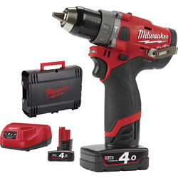Milwaukee Milwaukee M12 FPD-402X accu schroefklopboormachine 12V  Li-ion - 26111 - van Toolstation