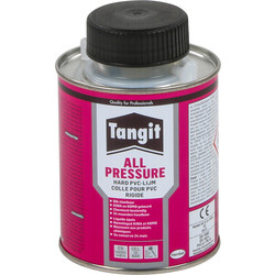 Tangit Tangit All Pressure PVC lijm gel 250ml blik m/kwast - 27177 - van Toolstation