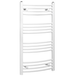 Curved Designer Radiator White 1200x550mm 543W