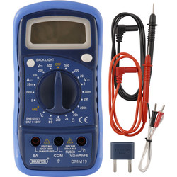 Draper digitale multimeter met thermokoppel