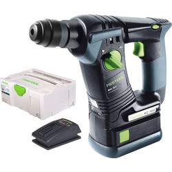 Festool BHC 18 Li 5,2 Plus accu boorhamer machine