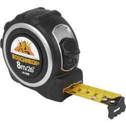 Roughneck Pro tape measure 8m