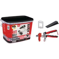 Rubi Rubi Kit Delta leveling systeem 3mm - 31721 - van Toolstation