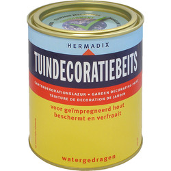 Hermadix tuindecoratiebeits 750ml bruin naturel