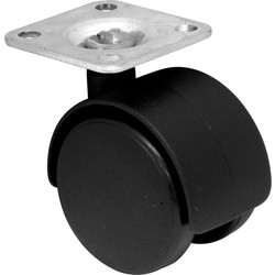 Double swivel 41mm plate