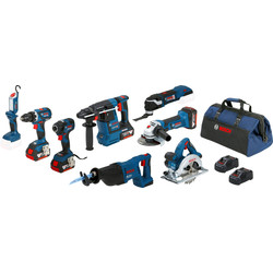 Bosch Bosch 18V 8 Toolkit 18V Li-ion - 32307 - van Toolstation