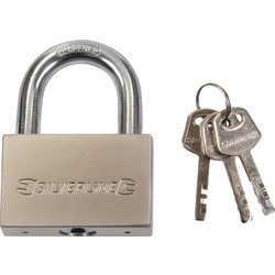 Steel Padlock 70mm Open Shackle
