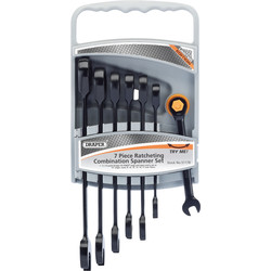 Draper Draper steek-ratel set 7-delig - 33735 - van Toolstation