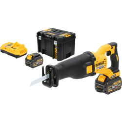DeWALT FlexVolt DCS388T2-QW accu reciprozaag machine 54V Li-ion