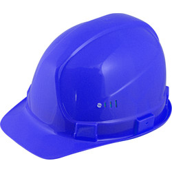 Portwest PE safety helmet Blue - 34659 - from Toolstation
