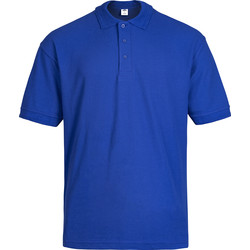 Polo Shirt L royal blue