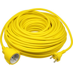 Extension Cable 40m 2x1,5mm2 yellow