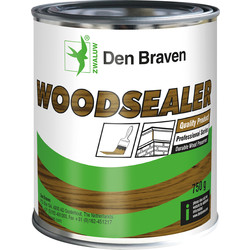 Zwaluw wood sealer white 750g
