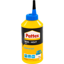 Pattex PRO Pattex PRO waterproof houtlijm flacon 750g - 37817 - van Toolstation