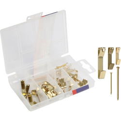 Set ophanghaken 28-delig - 37828 - van Toolstation