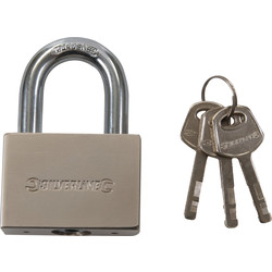 Padlock Steel 60mm Open bracket