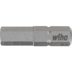 Wiha Wiha bit Standard HEX 6,0x25mm - 38037 - van Toolstation