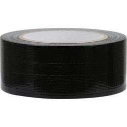 Duct tape hotmelt zwart 48mmx50m - 39037 - van Toolstation