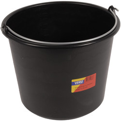 Vero Construction Bucket Black 12 liters